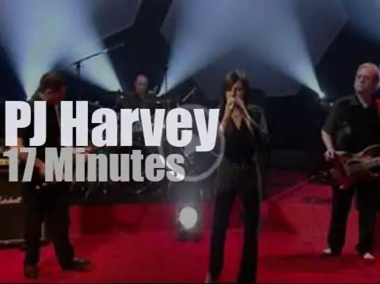 On TV today, PJ Harvey with Jools Holland (2001)