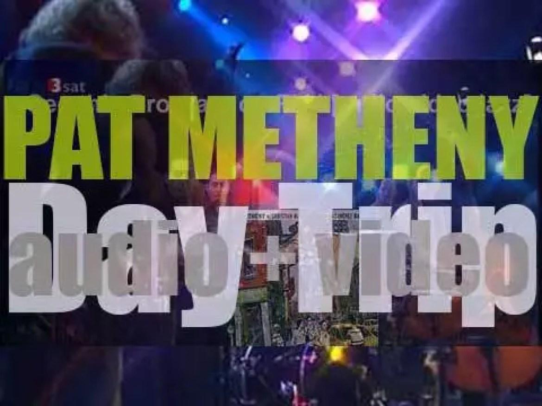 Pat Metheny records 'Day Trip' with Christian McBride and Antonio Sanchez (2005)