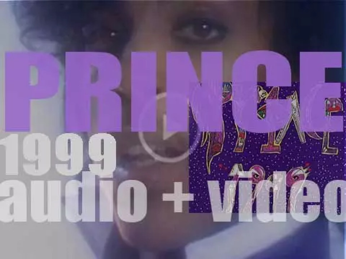 Warner Bros. publish Prince's fifth album : '1999' featuring 'Little Red Corvette' and 'Delirious' (1982)