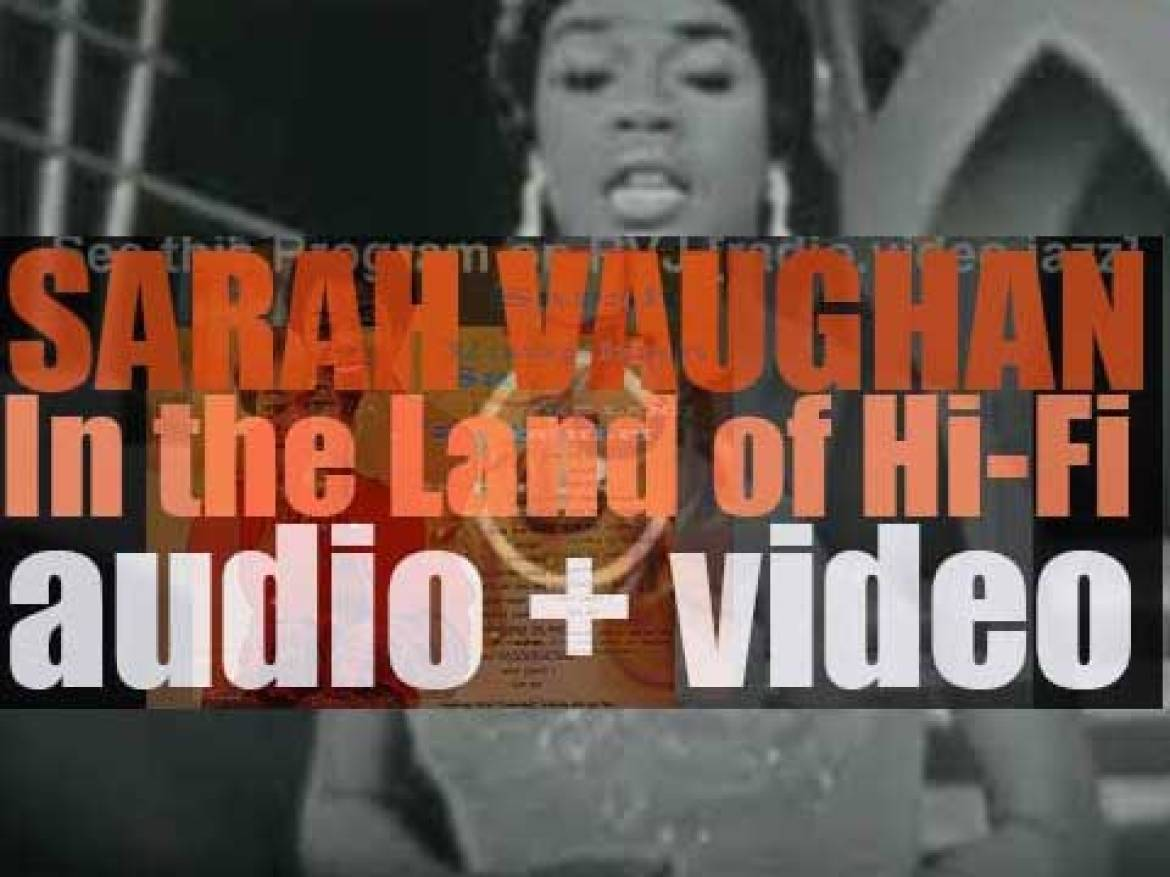 Sarah Vaughan records 'In the Land of Hi-Fi' for Emarcy (1955)