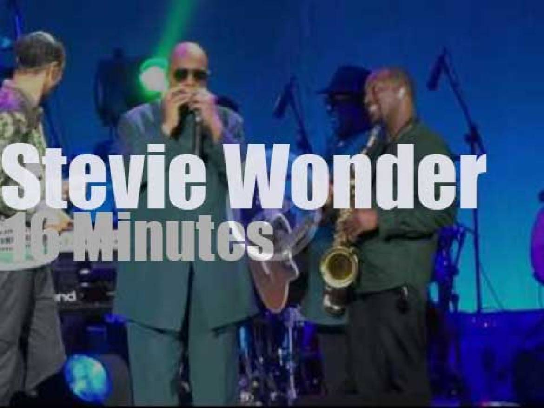 Stevie Wonder visits Toronto (2015)