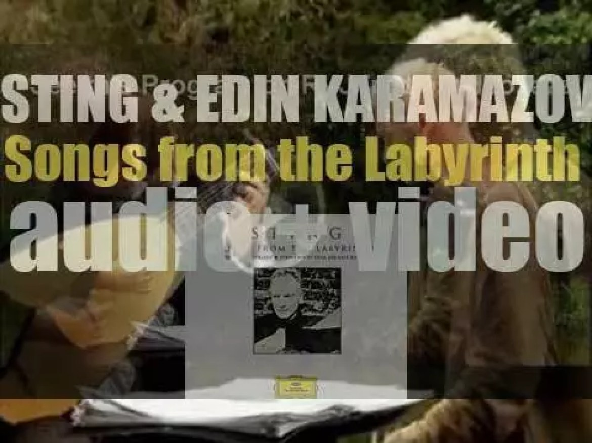 Deutsche Grammophon publish 'Songs from the Labyrinth' by Sting and Edin Karamazov (2006)