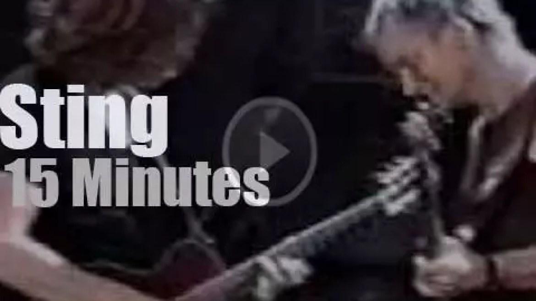 Sting visits Tokyo (2000)