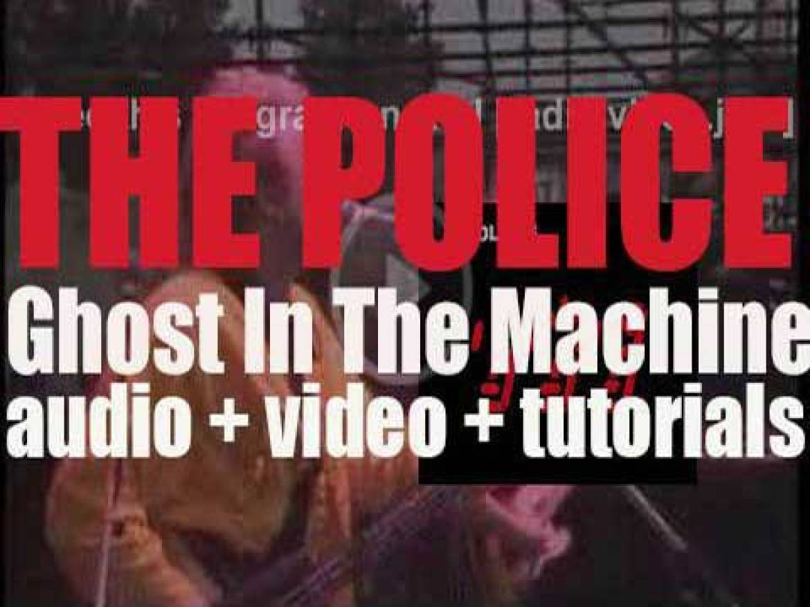 The Police release 'Ghost in the Machine,' their fourth album featuring 'Every Little Thing She Does Is Magic' and 'Spirits in the Material World' (1981)