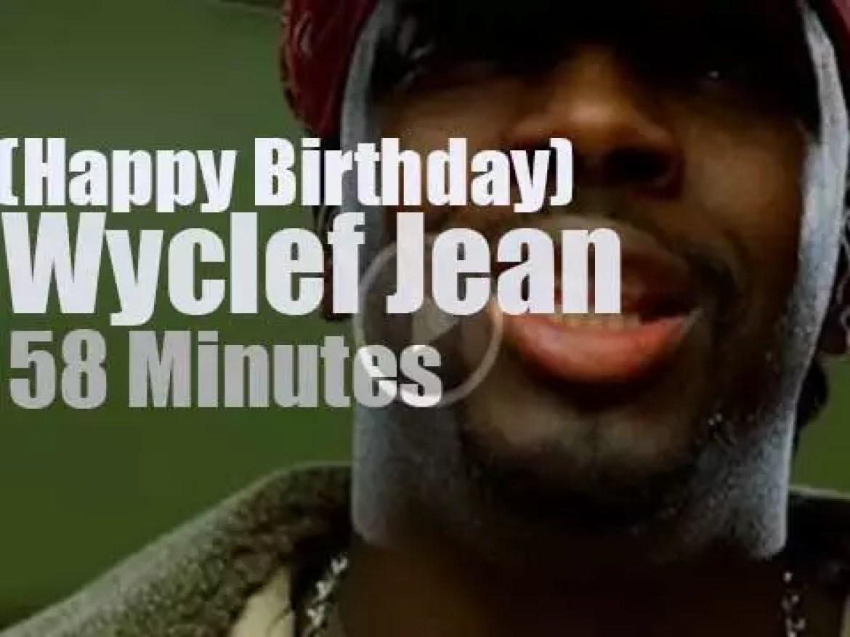 Happy Birthday Wyclef Jean
