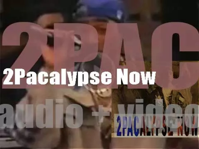 2Pac releases his debut album : '2Pacalypse Now' (1991)