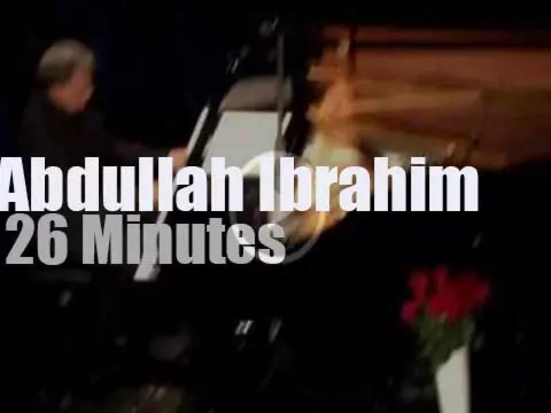 Abdullah Ibrahim plays solo in Austria (2013)