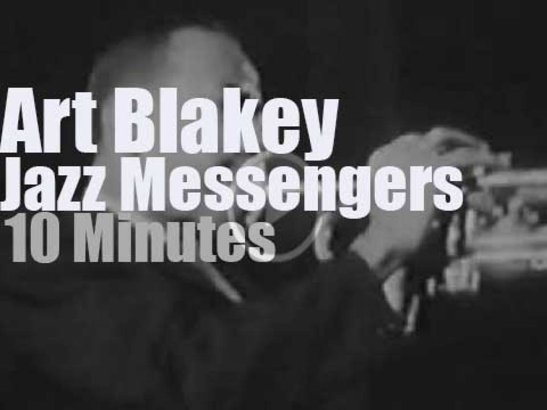 Art Blakey takes The Jazz Messengers to Paris (1959)
