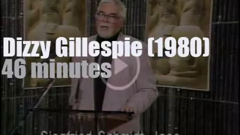 Dizzy Gillespie plays in Berlin (1980)