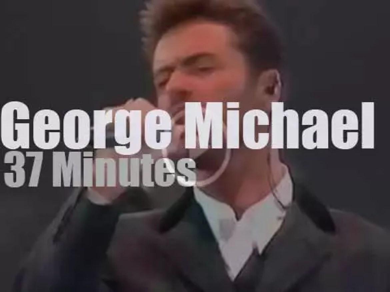 George Michael sings against Aids (1993)