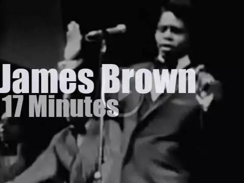 James Brown visits Paris (1967)