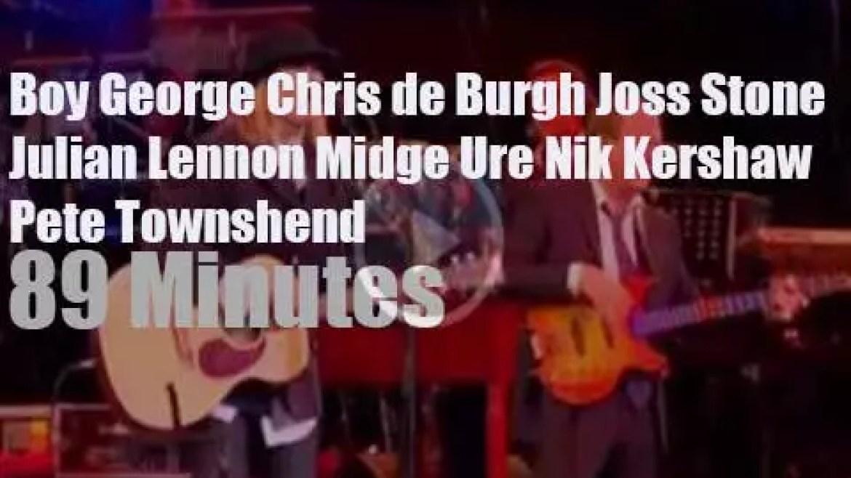 Joss, Julian, Midge et al perform at 'The Princes Trust Gala' (2011)
