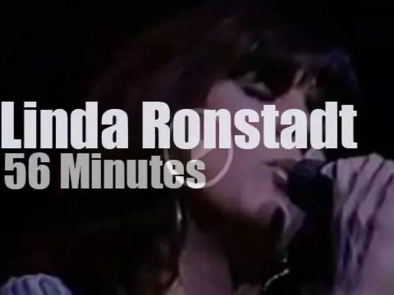 Linda Ronstadt sings in London (1976)