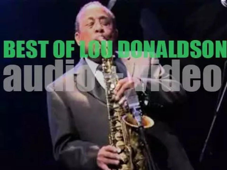 Happy Birthday Lou Donaldson. 'Blues Walking With Lou'