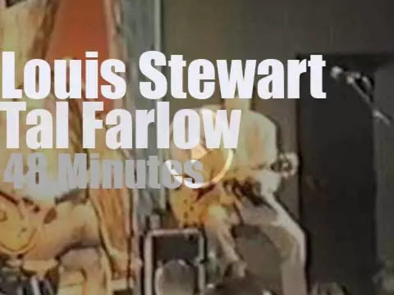 Louis Stewart meets Tal Farlow in Scotland (1988)