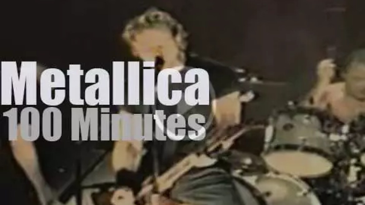 MTV tapes Metallica in NYC (1998)