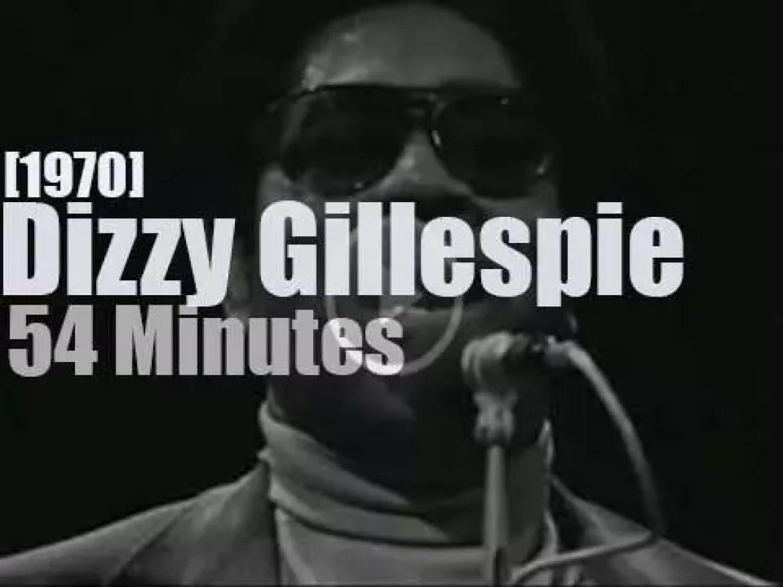 Dizzy Gillespie plays in Copenhagen (1970)