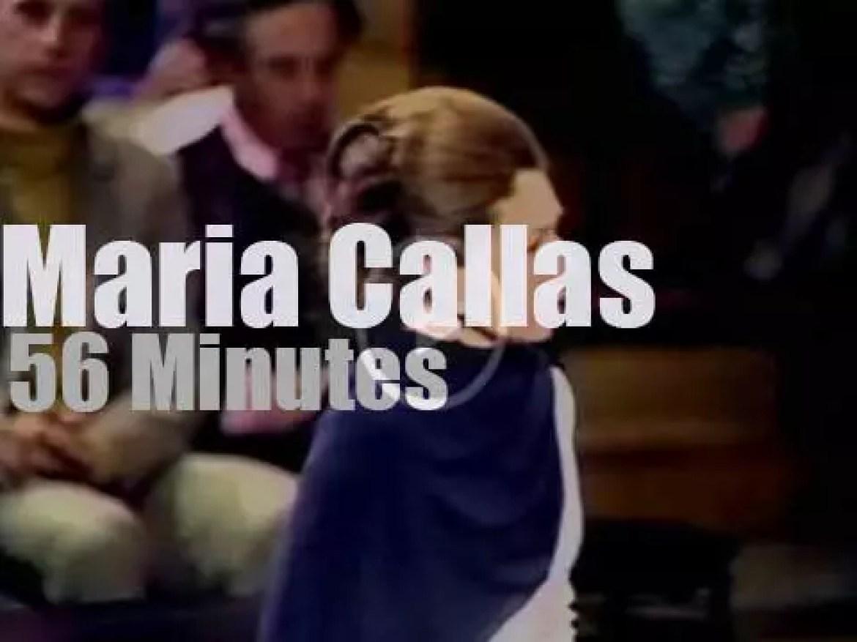 Maria Callas gives a 'London Farewell Concert' (1973)