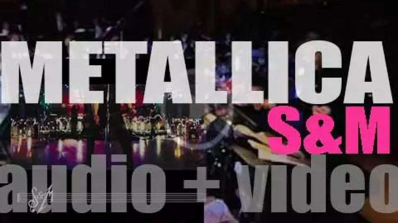 Elektra publish Metallica's 'S&M,' a live album  recorded with The San Francisco Symphony (1999)
