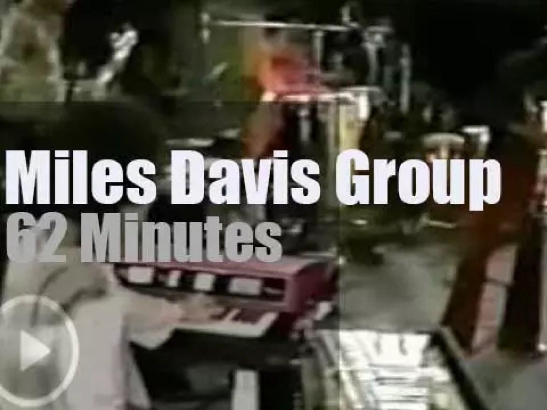 The Miles Davis Group meets in Berlin (1971)