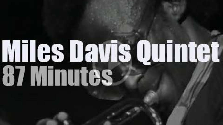 Miles Davis takes his Quintet to Oslo (1971)