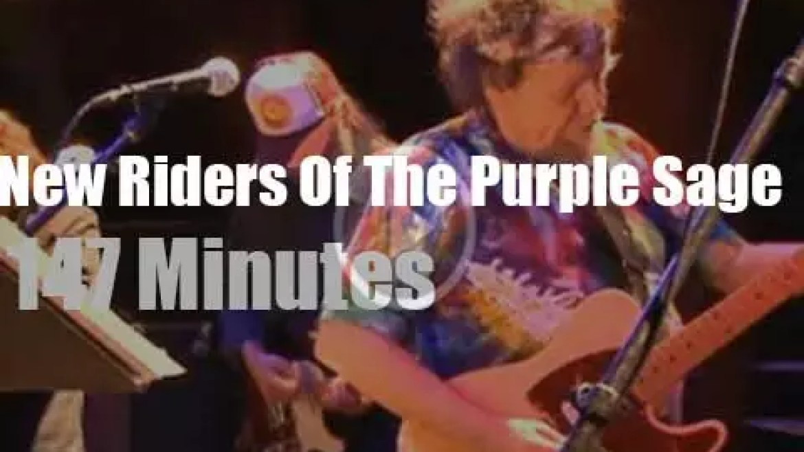 New Riders Of The Purple Sage are still playing (2014)