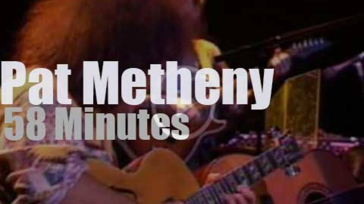 Pat Metheny visits New Jersey (1992)