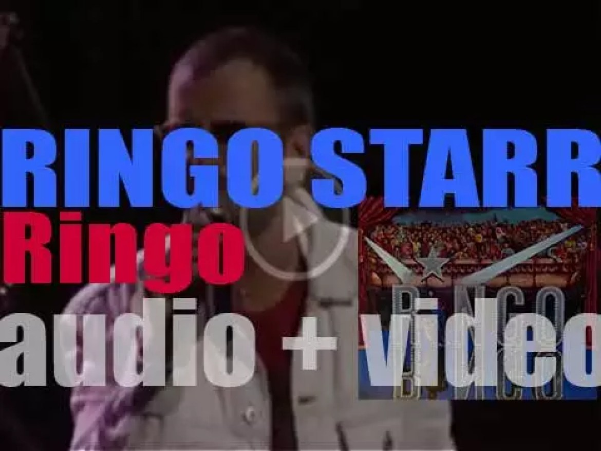 Ringo Starr releases his third album : 'Ringo' featuring 'Photograph' and 'You're Sixteen'  (1973)