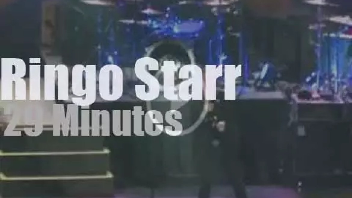 Ringo Starr takes his All Starr Band to Mexico (2013)