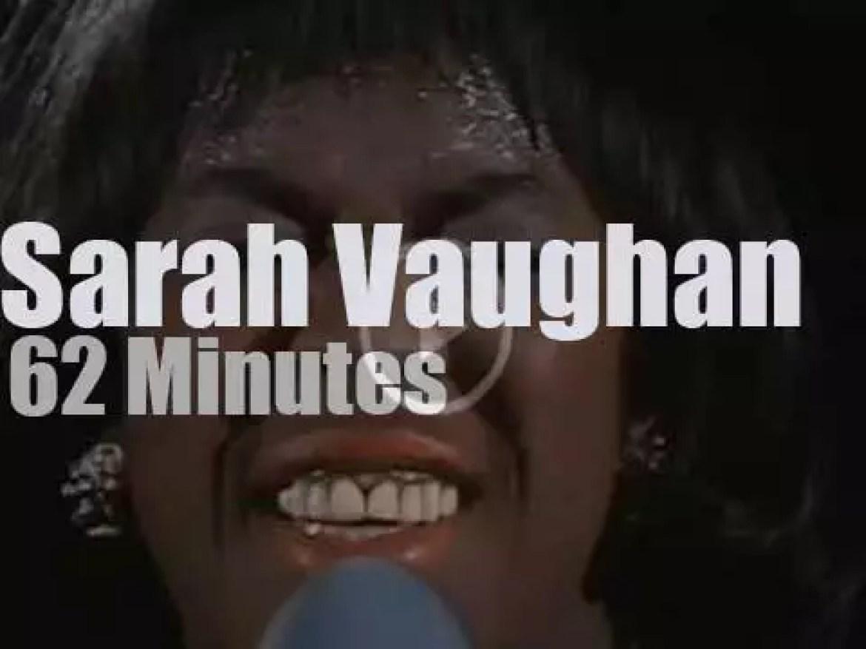 Sarah Vaughan sings in Berlin (1969)