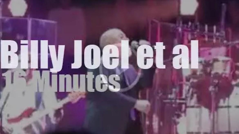 Billy Joel brings Sting & John Mellencamp to MSG (2014)