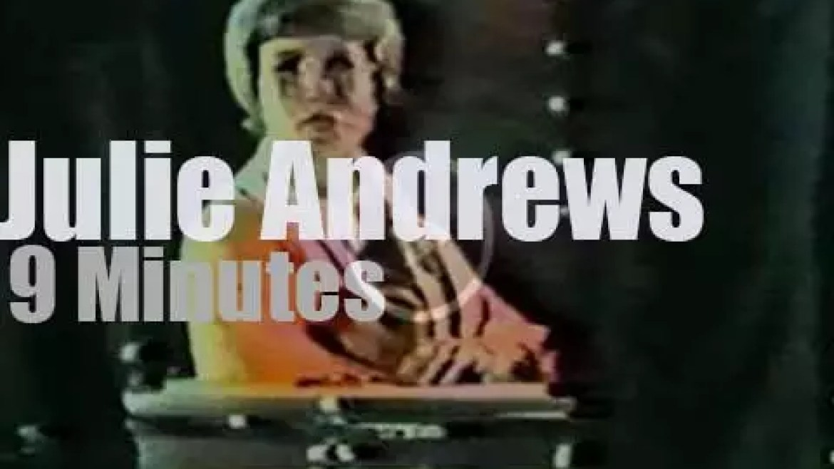 On TV today, The 'Julie Andrews Hour' (1972)