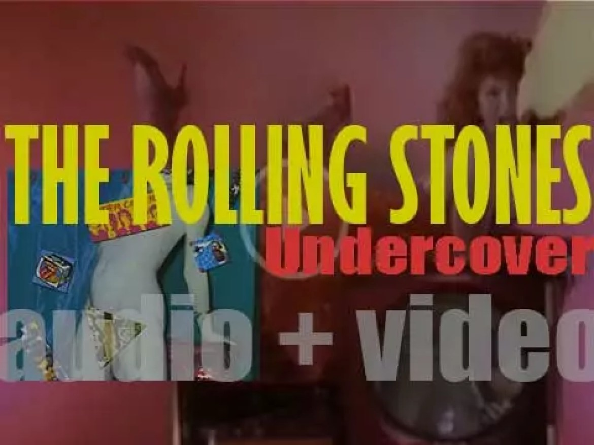 The Rolling Stones release their seventeenth album : 'Undercover' (1983)