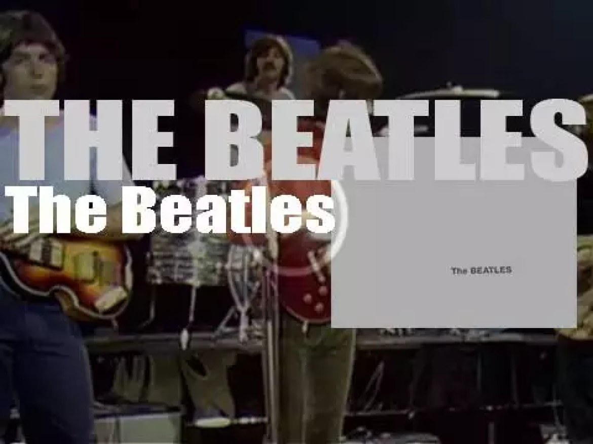 The Beatles release 'The Beatles,' their ninth eponymous album also called 'The White Album' (1968)