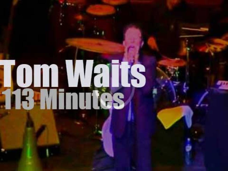 Tom Waits visits Amsterdam (2004)