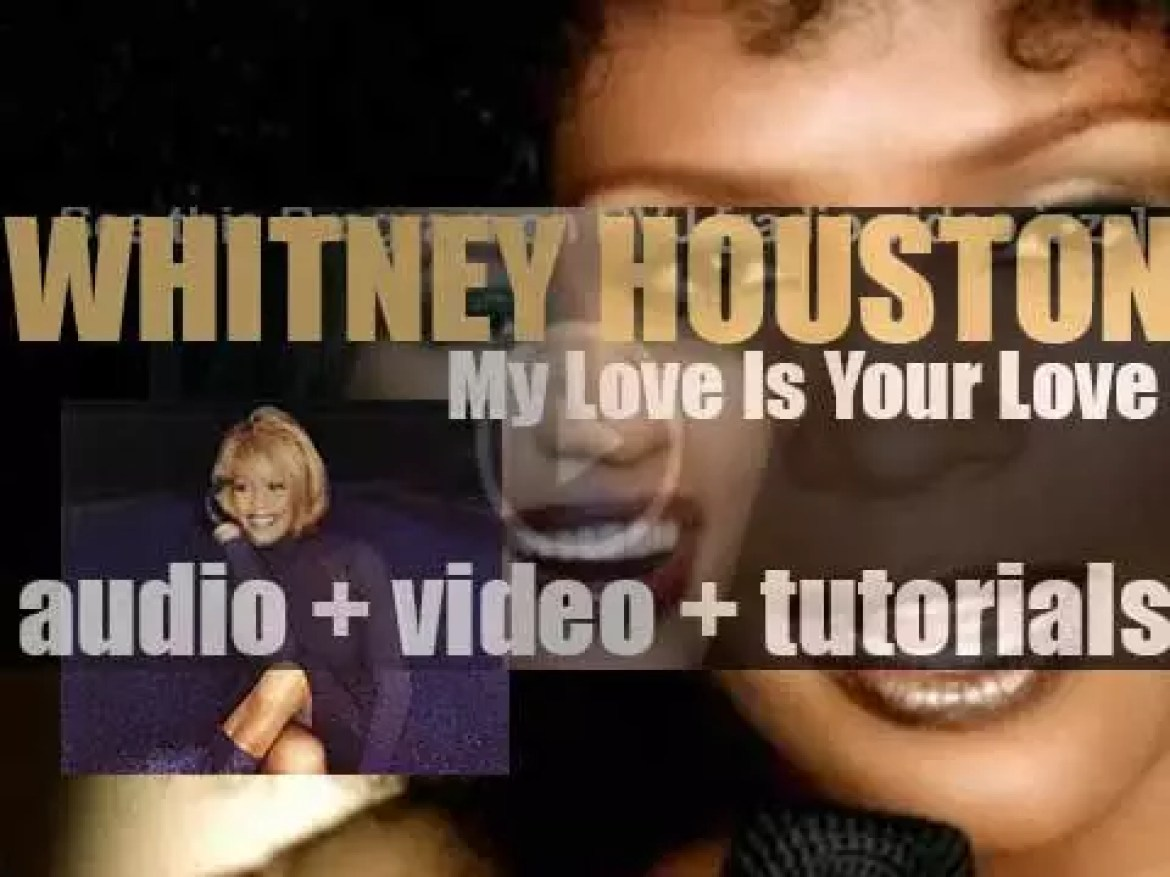 Whitney Houston releases 'My Love Is Your Love,' her fourth album featuring 'When You Believe,' 'Heartbreak Hotel,' 'It's Not Right, But It's Okay,' 'My Love Is Your Love' and 'I Learned from the Best' (1998)