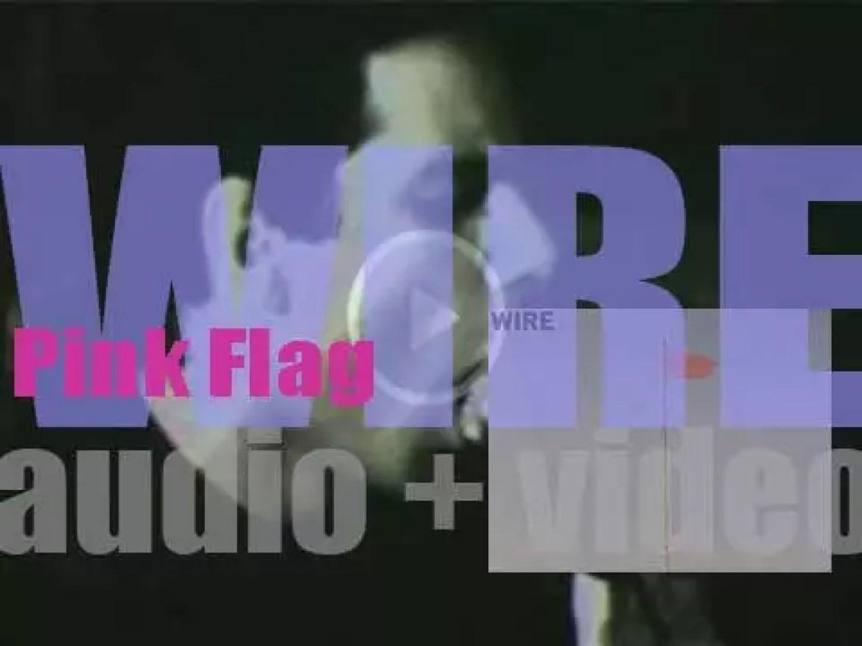 Harvest Records publish Wire's debut album : 'Pink Flag' (1977)