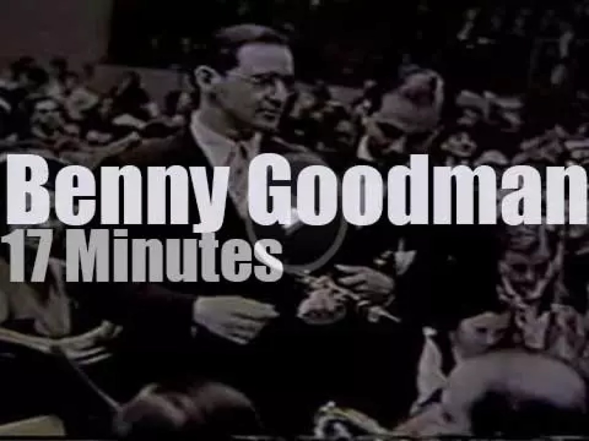 On TV today, 'Tribute To Benny Goodman' (1982)