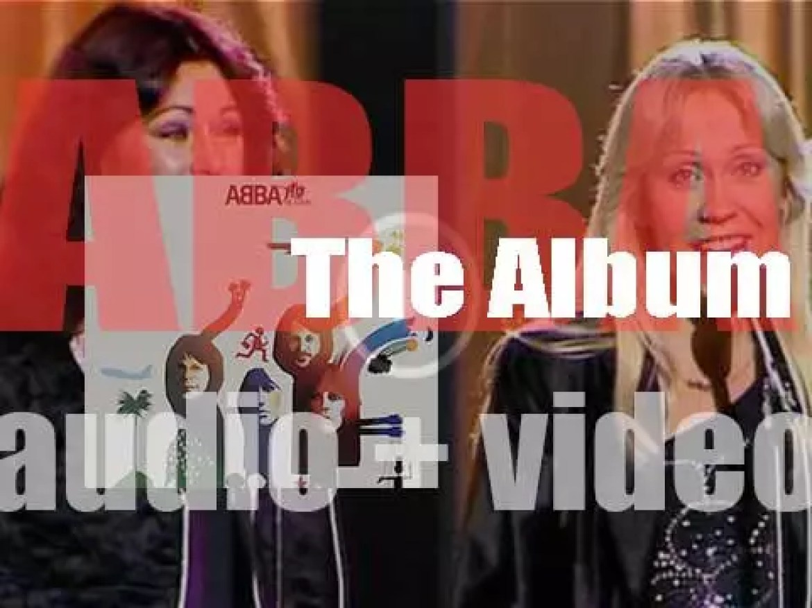 ABBA release their fifth album : 'The Album' featuring 'The Name of the Game' and 'Take a Chance on Me' (1977)
