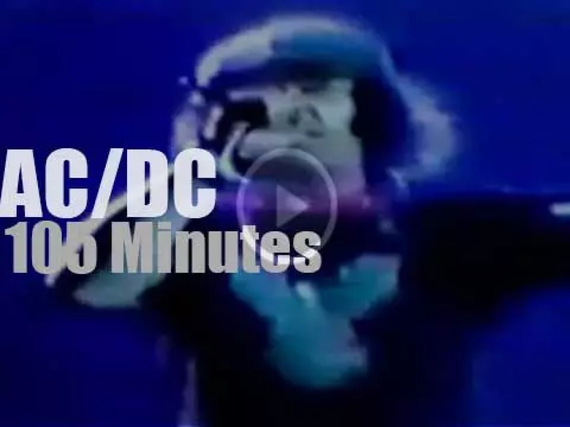 AC/DC are 'About to Rock' in Maryland (1981)