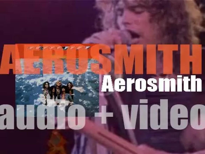 Columbia Records publish 'Aerosmith' their eponymous debut album featuring 'Dream On' (1973)