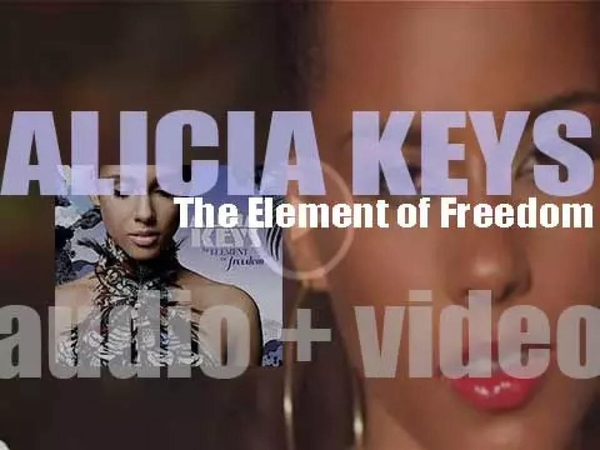Alicia Keys' 'The Element of Freedom' featuring 'Try Sleeping with a Broken Heart' and 'Un-Thinkable (I'm Ready)' (2009)
