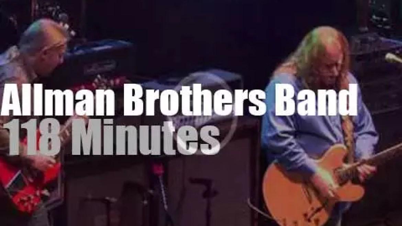 Allman Brothers Band go to Boston (2011)