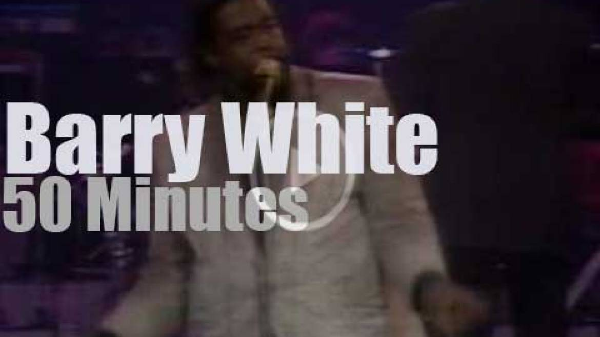Barry White enchants Paris (1987)