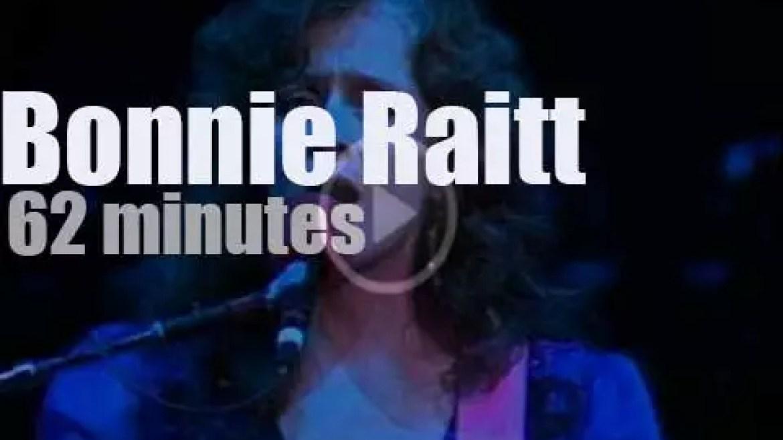 Bonnie Raitt ends the year in  Oakland (1989)
