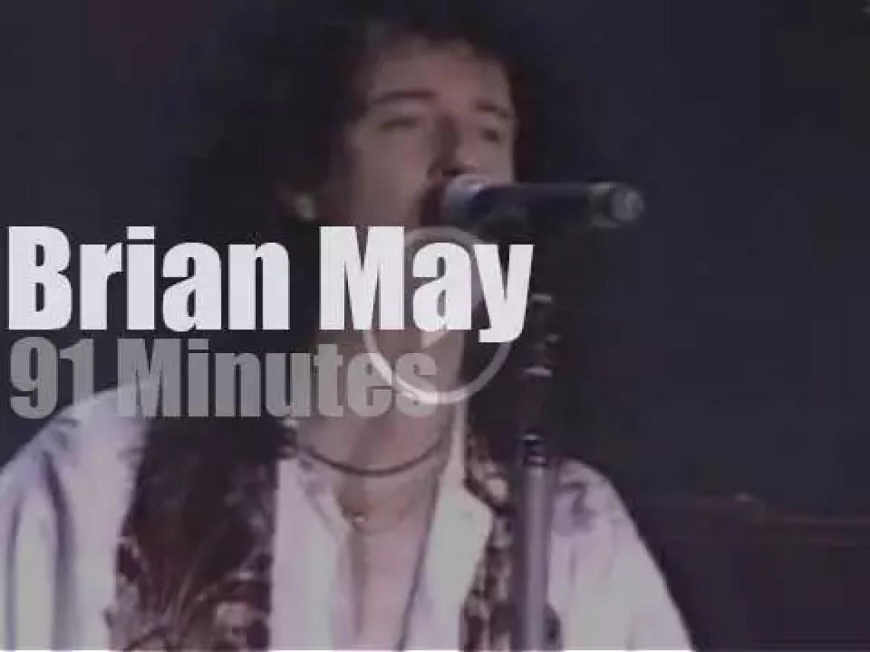 Brian May visits Barcelona (1993)