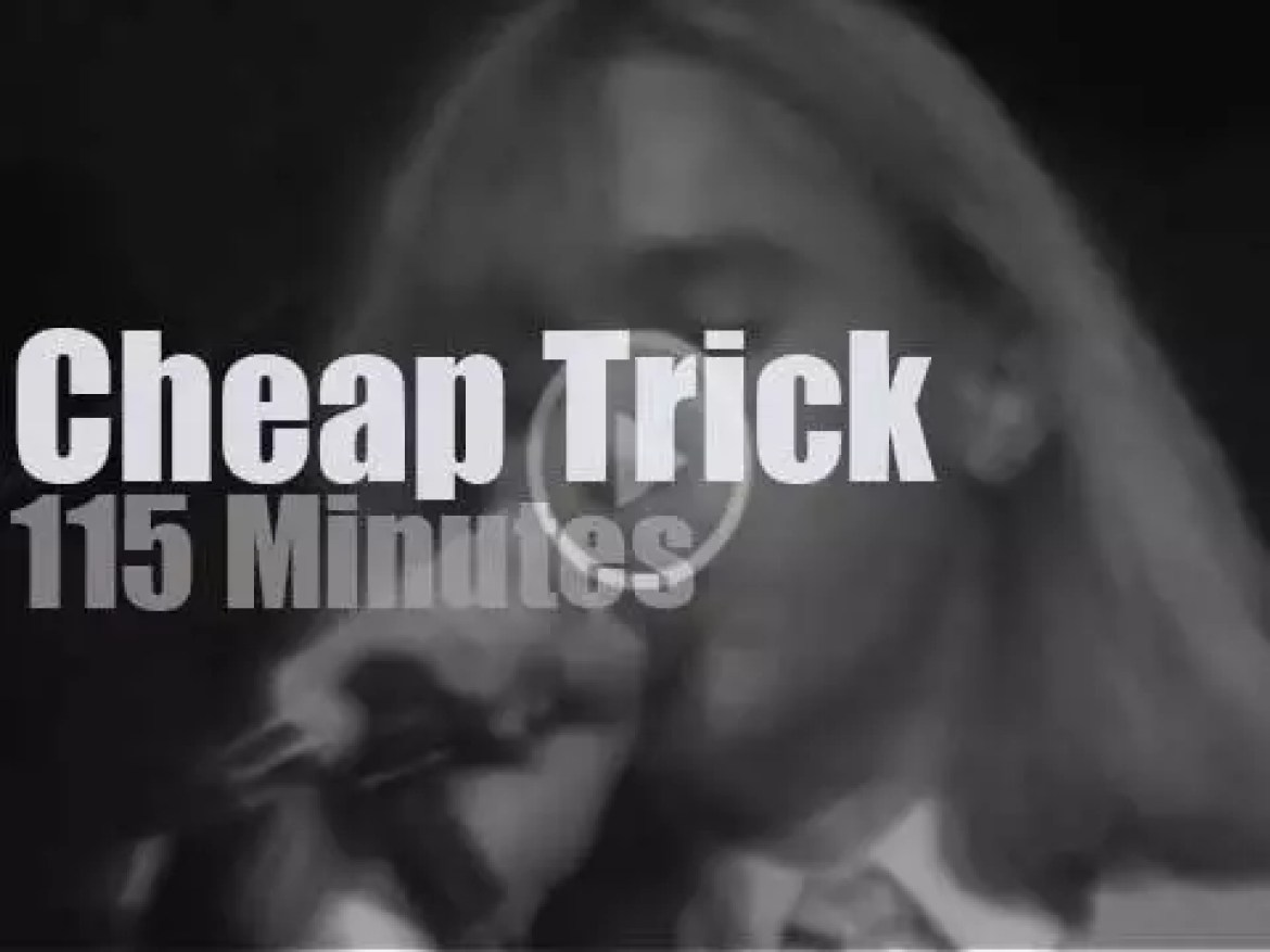 Cheap Trick play in New-Jersey (1978)