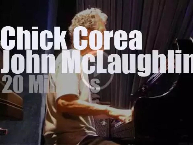 Chick Corea meets John McLaughlin (2016)