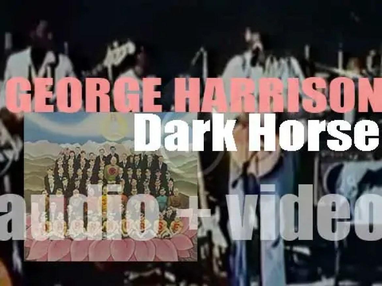 Apple Records publish George Harrison's fifth album : 'Dark Horse' (1974)