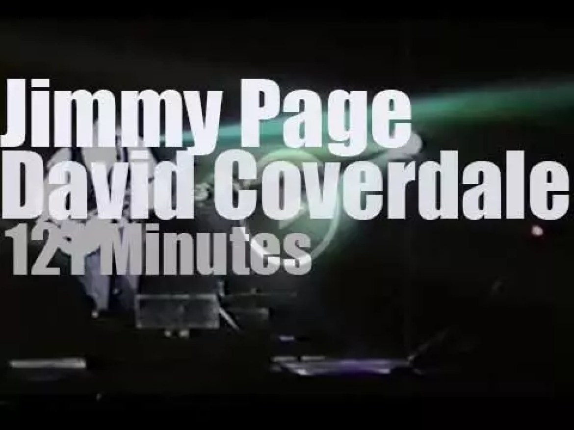 David Coverdale & Jimmy Page go to Japan (1993)